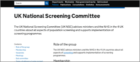 NSC Website